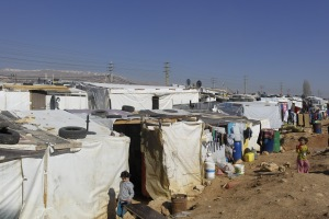 Syrian Refugee Camp in Zahle