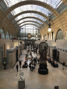Musee d'Orsay built in an old station.